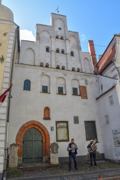 "One of the ""three brothers""—the oldest dwellings in Riga"