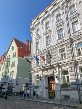 Hotel Telegraaf in the old Tallinn Post Office building