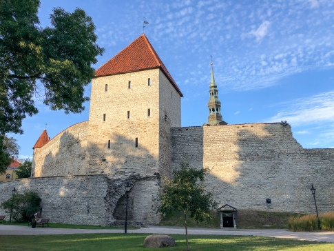 Tallinn's old city walls