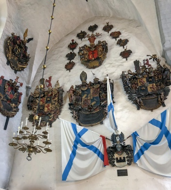 Coats of arms in the Toomkirik