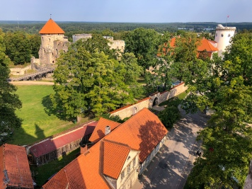 View of Cēsis Castle