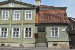 A historic building in Kuldīga