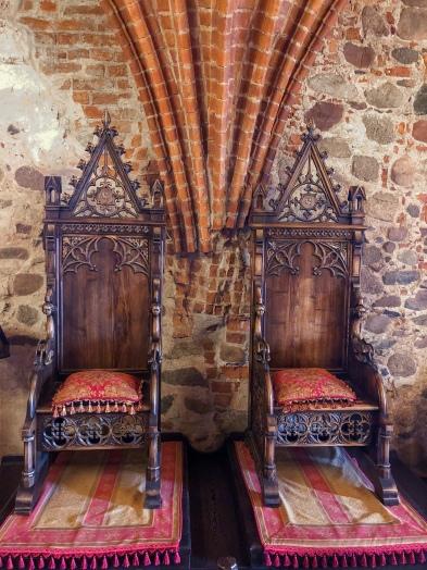 Throne Room in Trakai Castle