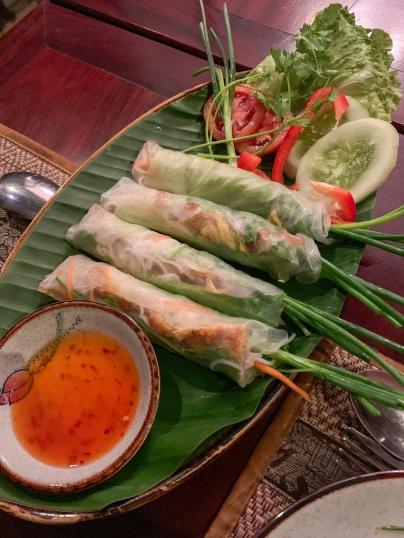 Appetizers at Café Toui